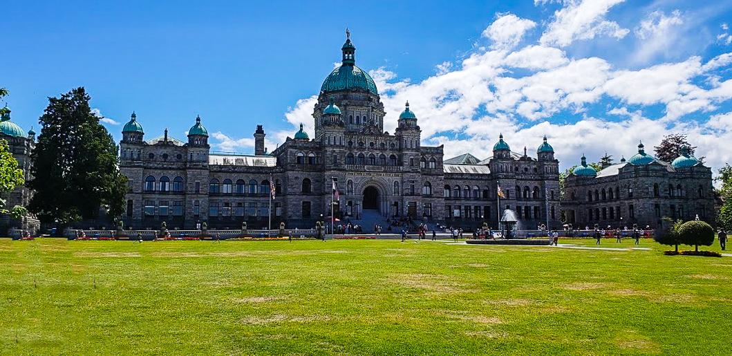 British Columbia Parliament Buildings, Victoria BC